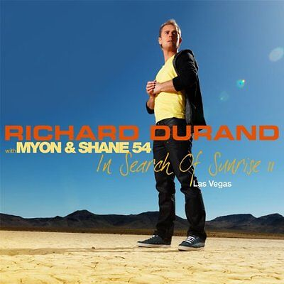Richard Durand With Myon And Shane 54   In Search Of Sunrise 11 Las Vegas  Cd