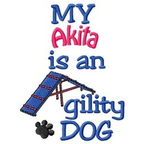 My Akita is An Agility Dog Fleece Jacket - DC2034L Size S - XXL