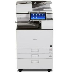 $ 75/Month New Repossessed Ricoh MP 3555 Black and White Laser Multifunction Printer Canada Preview