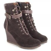 Wedge Ankle Boots Size 3