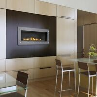 NAPOLEON Direct Vent Fireplace LHD45 Linear High Def Series