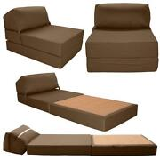 Folding chair bed ebay for Futon sofa cama plegable