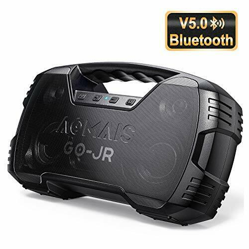 Aomais Portable Bluetooth Speaker V5.0 Waterproof Wireless P