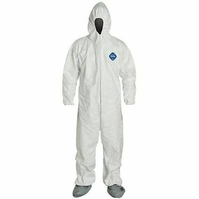 Dupont Ty122s-l Tyvek Coveralls Bunny Suit Sold Each