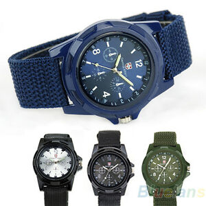 Military-Army-Solider-Sport-Weave-Canvas-Belt-Quartz-Wrist-Watch-B8