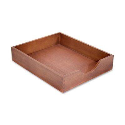 Carver Hedberg Letter Size Desk Tray - Oak - Walnut (CW07212) ()