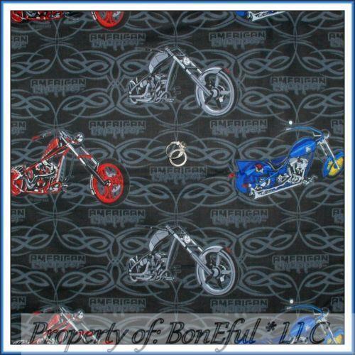 Harley Davidson Cotton Quilting Fabric Ebay