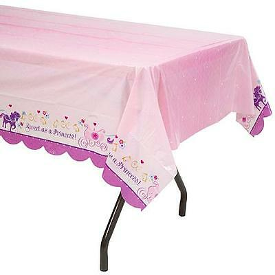 (2) Sofia the First Party Printed Plastic Tablecover 54 x 96 in - Party Supplies - Sofia The First Table Cloth