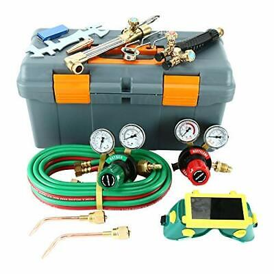 Gas Welding And Cutting Kit Victor Type Acetylene Oxygen Torch Set Regulator New