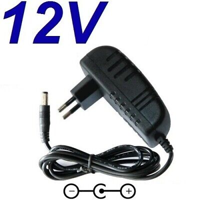 Cargador Corriente 12V Reemplazo Reproductor DVD AIRIS LW268 LW 268 Recambio