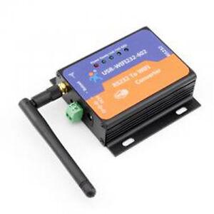 RS232 to WIFI 802.11 B/G/N Converter RS232 data to WIFI or TCPIP socket Q00196