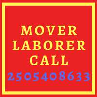 Mover or Laborer? Call or Text, I Can Help You.