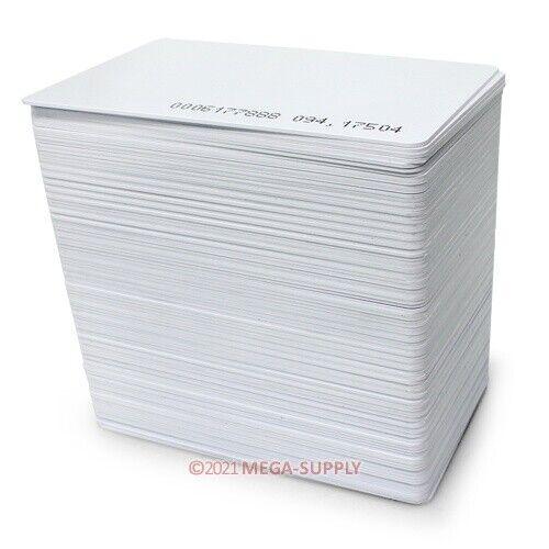 50pcs 125Khz ID RFID Proximity Cards 0.8mm Thickness Brand New