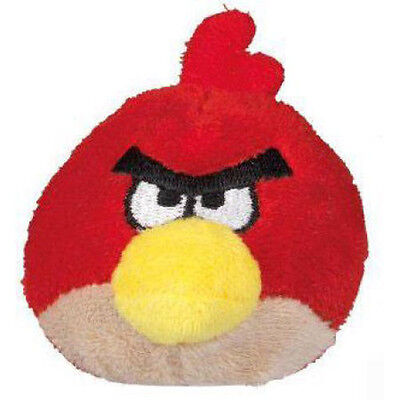 ANGRY BIRDS Red Bird MINI PLUSH PENCIL TOPPER ~ Birthday Party Supplies - Angry Bird Party Favors