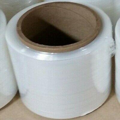 6 5 X 1000 80 Gauge Stretch Film Hand Wrap Rolls W 3 Handle Free Shipping