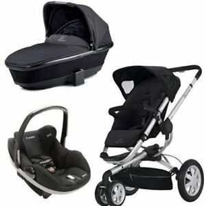 Quinny Buzz 3 Stroller +Maxi Cosi car seat with bassinet