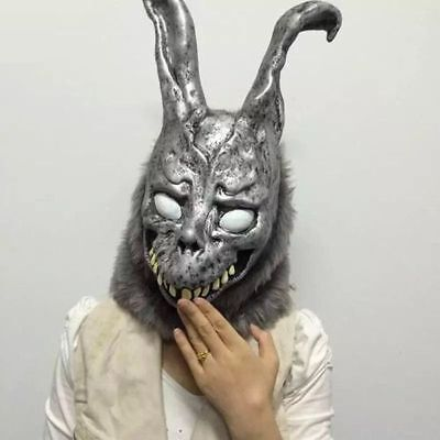 Halloween Donnie Darko Rabbit Frank Bunny Rabbit Latex Overhead with Fur Scary