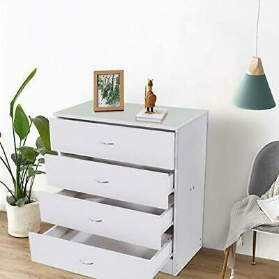 Chest of Drawers Dresser MDF 4 Drawer Discount Furniture Cabinet Bedroom Storage