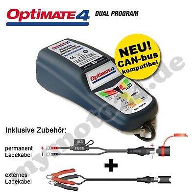 Batterieladegerät Tecmate OptiMate 4 DUAL, 12V-Pflege kl./mittl. Batterien, SAE