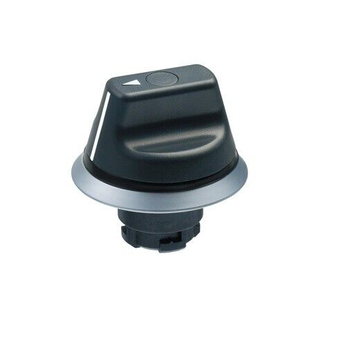 NWS21, SINGULAR, Selector Switch for N series (Black Maintained 2 Pos)