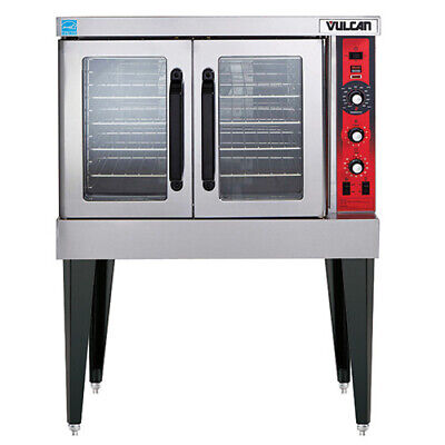 Vulcan Vc4ed Electric Convection Oven - Single Stack Standard Depth Free Kit