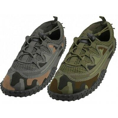 ac2aab470011 Men s Laced Up Camouflage Water Shoes Aqua Socks For Pool