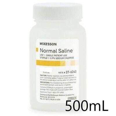 Normal Saline Usp Solution Sodium Chloride 0.9solution Bottle500ml