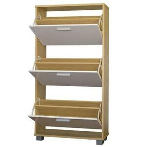 Shoe rack storage cabinet