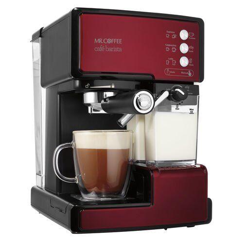 Mr. Coffee Café Barista Premium Espresso and Cappuccino Mac