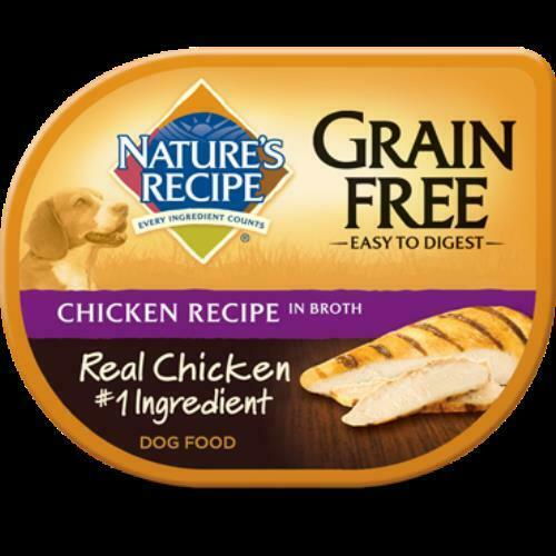 Nature's Recipe Grain Free Chicken Recipe Broth Wet Dog Food