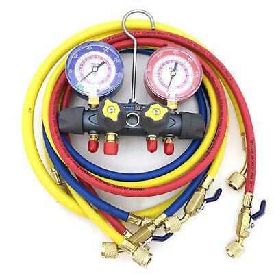 Yellow Jacket 49968 Titan 4-valve Test Charge Manifold Psi F