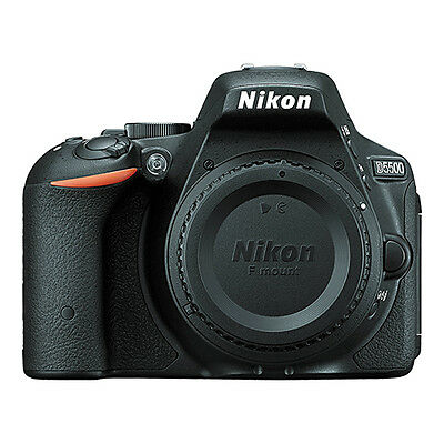 Nikon D5500 24.2 Mp DX-Format CMOS Digital SLR Camera Body Only Black
