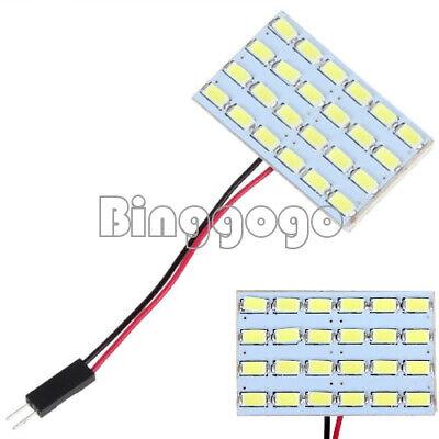 12V 3W 24 SMD 5730 LED Light Panel Board Car Dome Interior Reading Bulb Lamp