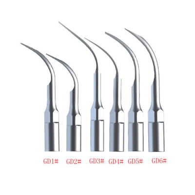 120 Dental Ultrasonic Piezon Scaler Scaling Tips Gd1-6 Fit Dte Satelec Handpiece