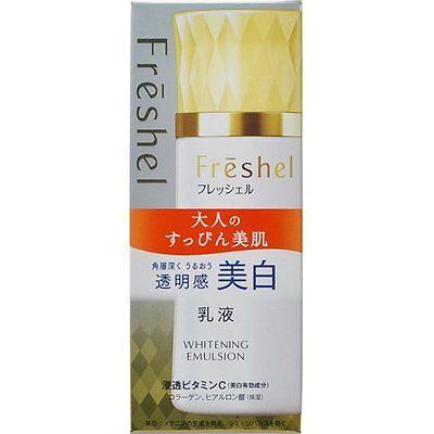 Kanebo Freshel milk white N 130ml. WHITENING EMULSION. From Japan