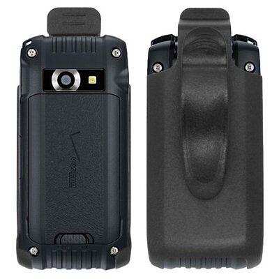 For Casio G'zOne Ravine 2 C781 Black Swivel Belt Clip Holster