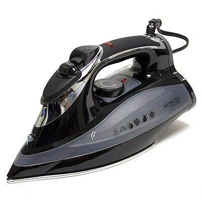 Full Function Steam Iron- Stainless Steel Plate, Vertical Steam, Self Cleaning! on Rummage