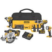 DEWALT 20V MAX 5 Tools COMBO KITS/5 OUTILS NEW IN BOX/NEUF