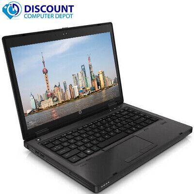 "Laptop Windows - HP Laptop Computer 14"" ProBook 6465b AMD A4 8GB 500GB HD DVD Windows 10 PC"