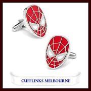Spiderman Cufflinks