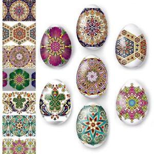 Thermo Heat Shrink Sleeve Decoration Easter Egg Wraps Pysanka Pysanky Patterns