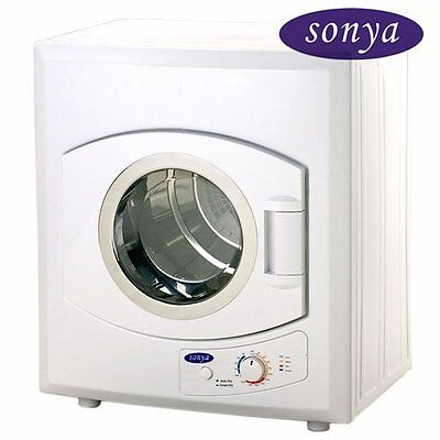 مجفف الغسيل جديد Sonya Compact Apartment Size Portable Dryer 8.8lbs/2.65cu.ft SYD-40E