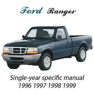 ford ranger manual ebay