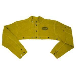 *NEW* IRONCAT 7000 Leather Welding Cape Sleeve, Heat Resistant, Size Medium