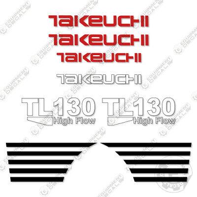 Takeuchi Tl 130 Mini Excavator Decals Equipment Decals Tl130 Tl-130