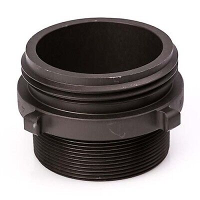 Aluminum 4 Nh To 4 Npt Double Male Fire Hose Adapter