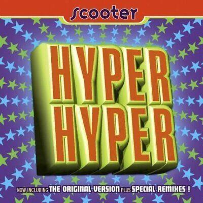 Scooter [maxi-cd] hyper hyper (1994)