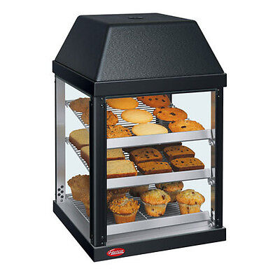 Hatco Mdw-1x 470 Watt 1 Door Mini Display Warmer With 3 Magnetic Shelves