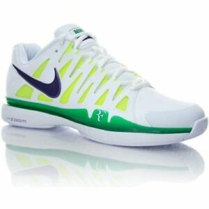 Roger Federer Logo Nike Tennis Shoes Wimbledon Size US 7.5 NEW