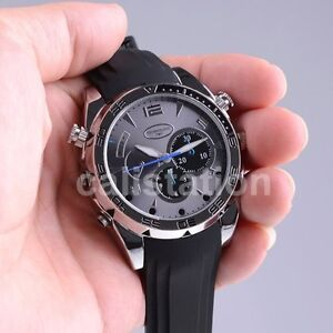 16GB HD 1080P Waterproof Spy Watch Camera with IR Night Vision Hidden Cam USA